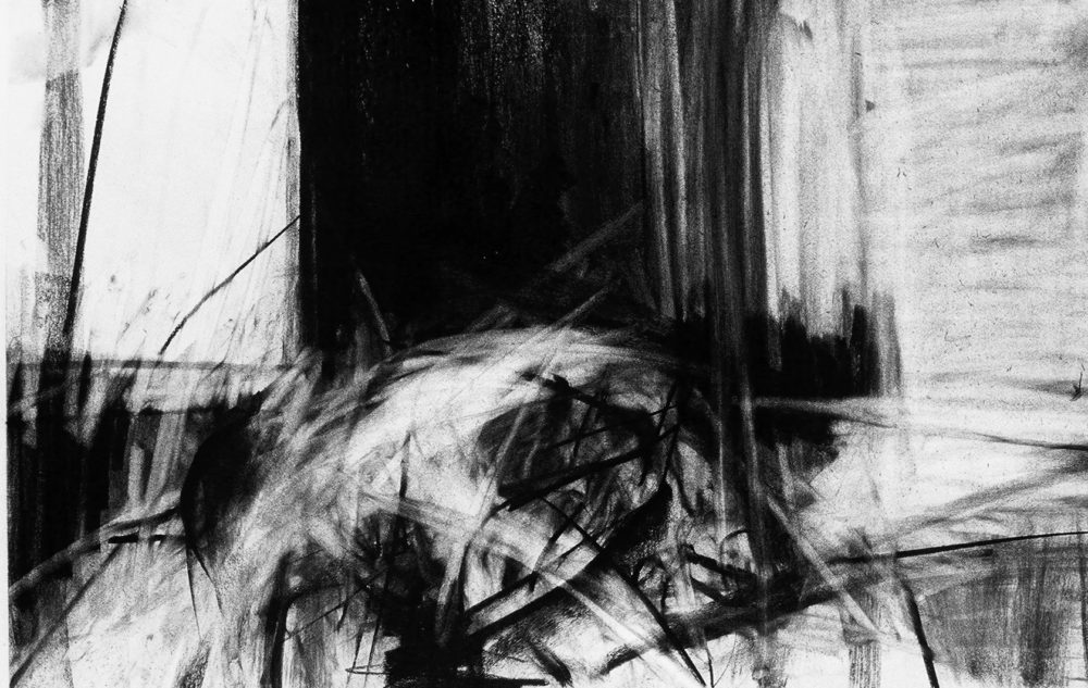 john ros figures in motion (after muybridge), 2001 monotype