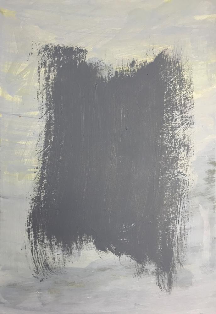 john ros, the grey paintings, 2016