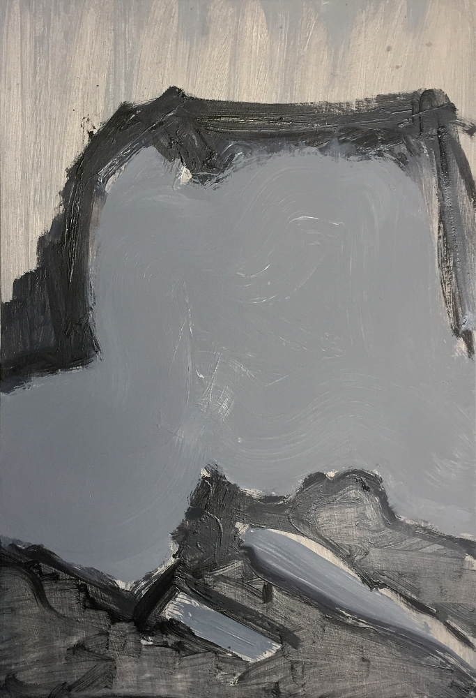 john ros, the grey paintings, 2016