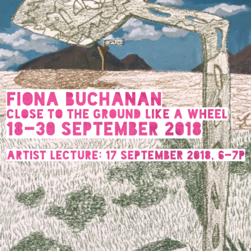 18-30 september 2018 fiona buchanan: close to the ground like a wheel curated by john ros crit space gallery, jmu, harrisonburg, virginia