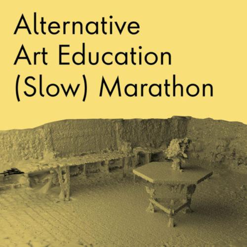 alternative art education (slow) marathonlondon, england online via the conway hall