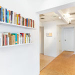 collaborative reading space: anna hoberman at stand4 gallery, curated by john ros. april-may 2021.