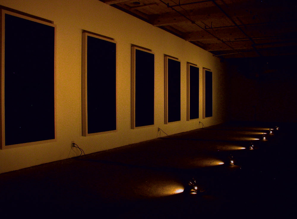 john ros installation, the suppression of awareness - in six parts, 2002