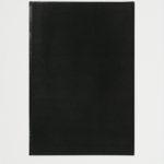 john ros, untitled diptych (black), 2005-2010